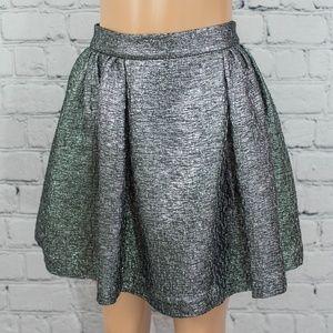 Kate Spade silver skirt